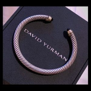 David Yurman Classic Cable 5mm Black Onyx